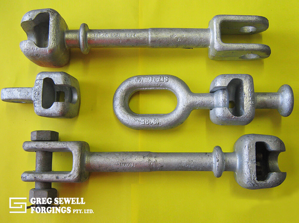 Socket Clevis Extension Link, Ball Socket, Ball Eye or Transmission Line Hardware