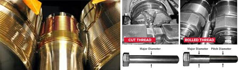 Cut Thread & Rolled Thread