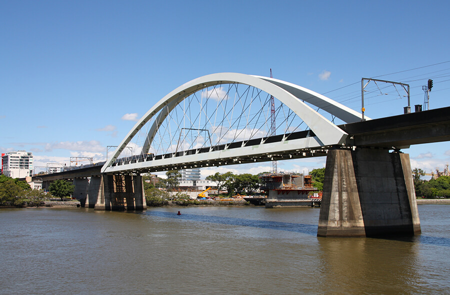 Brisbane Railway Bridge Forged Components