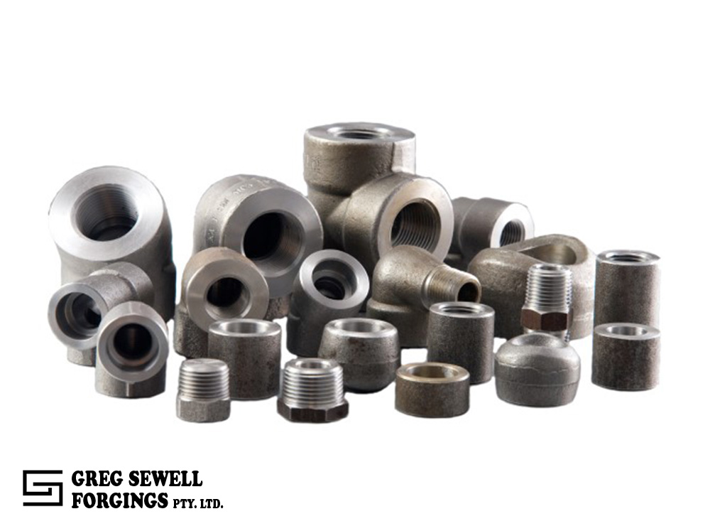 asme b16 11 forged fittings types